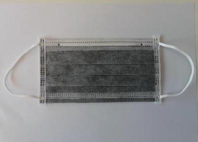 Renic NWM901FE-S258 活性碳口罩四层耳挂式9cm*18cm