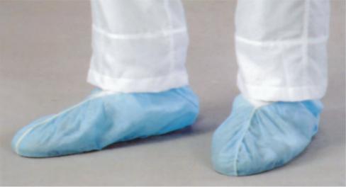 Renic NWSPP101 无纺布PP防滑鞋套(全筋)蓝色
